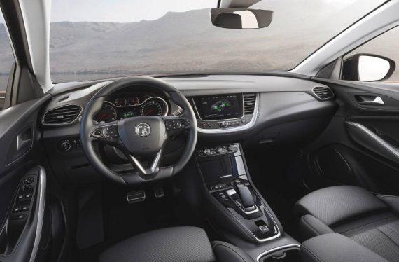салон Opel Grandland X Hybrid4 фото