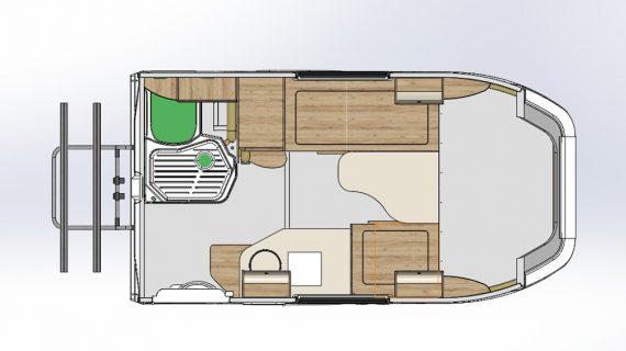 Тюнинг Лада Гранта - дом на колесах схема