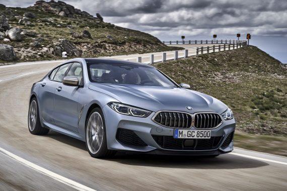 Фото нового BMW 8 Series Gran Coupe 2021 года