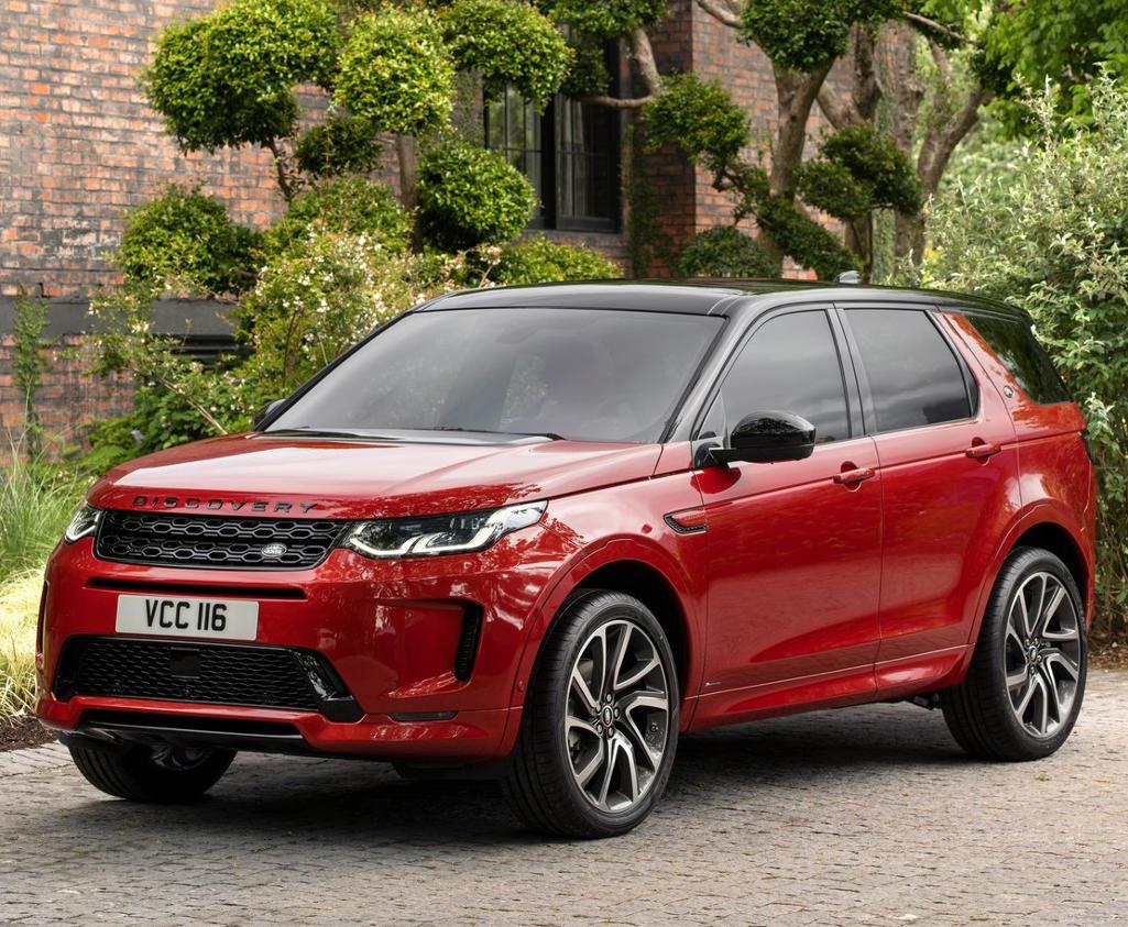 Фото нового Land Rover Discovery Sport 2020 года