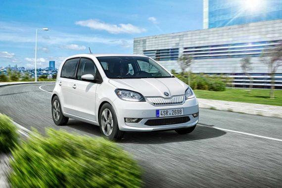 фото электромобиля Skoda Citigo-e iV