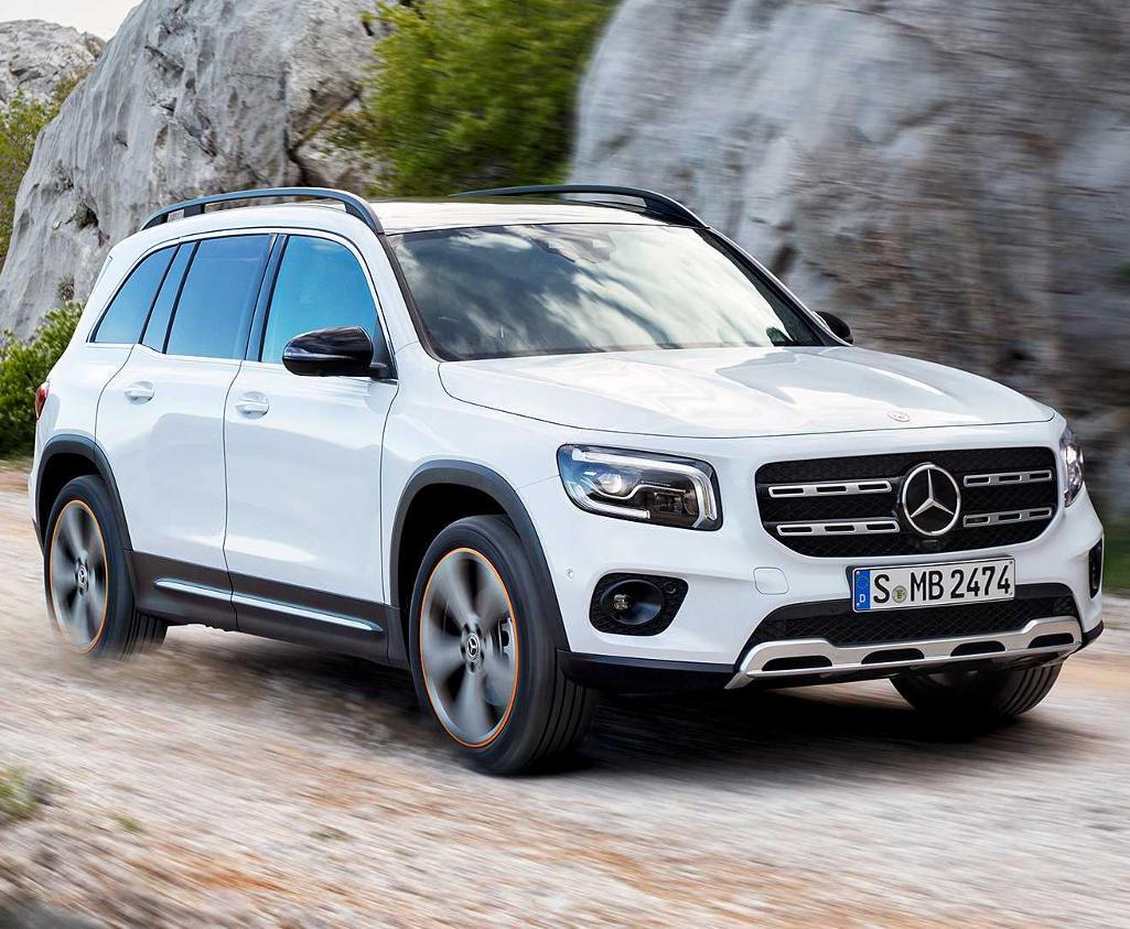 фото нового Mercedes GLB 2020
