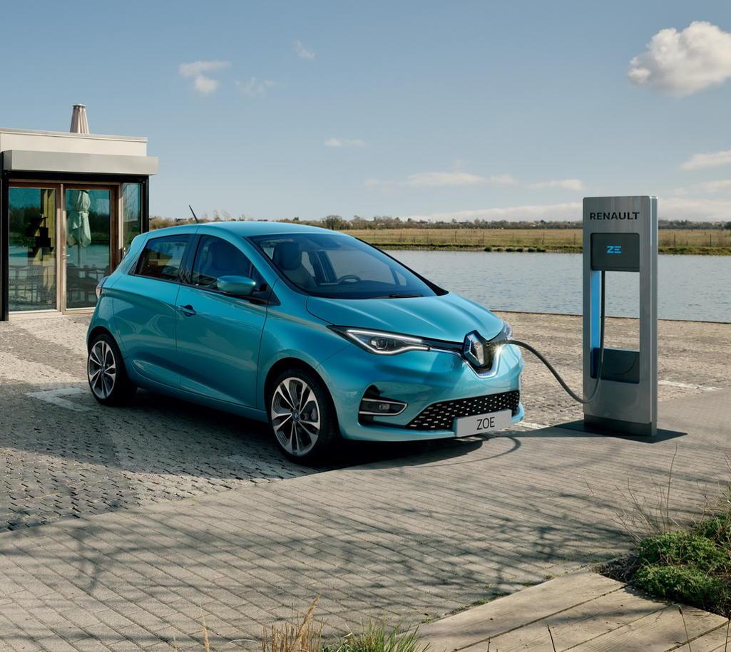 фото нового Renault Zoe 2020