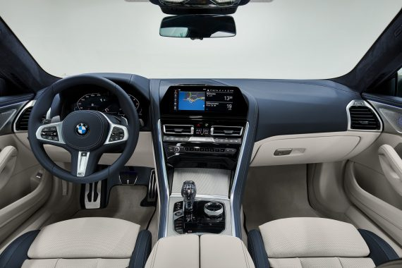 фото салона BMW 8 Series Gran Coupe 2021