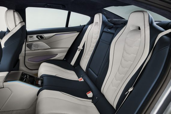 интерьер BMW 8 Series Gran Coupe 2021 фото