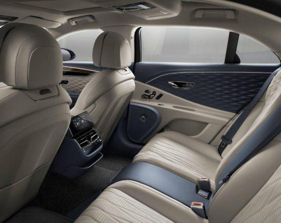 интерьер Bentley Flying Spur 2020