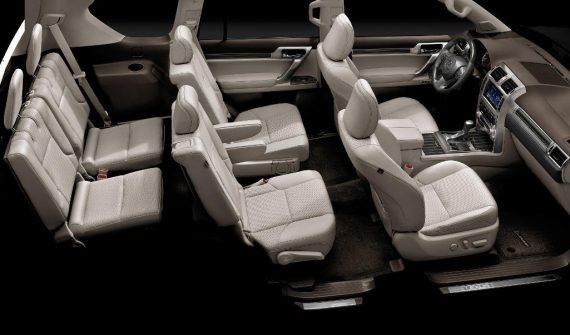 интерьер Lexus GX460 2019 - 2020