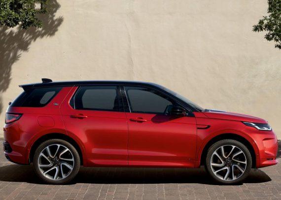 новый Land Rover Discovery Sport 2020 сбоку