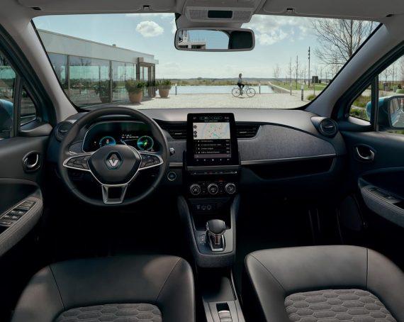 салон Renault Zoe 2020 года