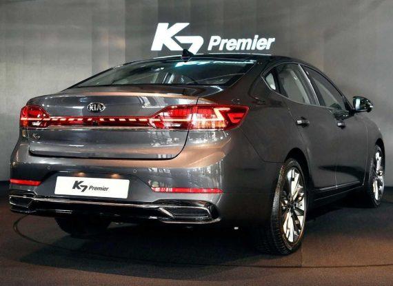 задние фонари Kia K7 Cadenza 2020 фото