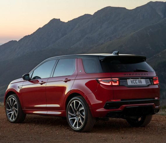 задняя часть Land Rover Discovery Sport 2020