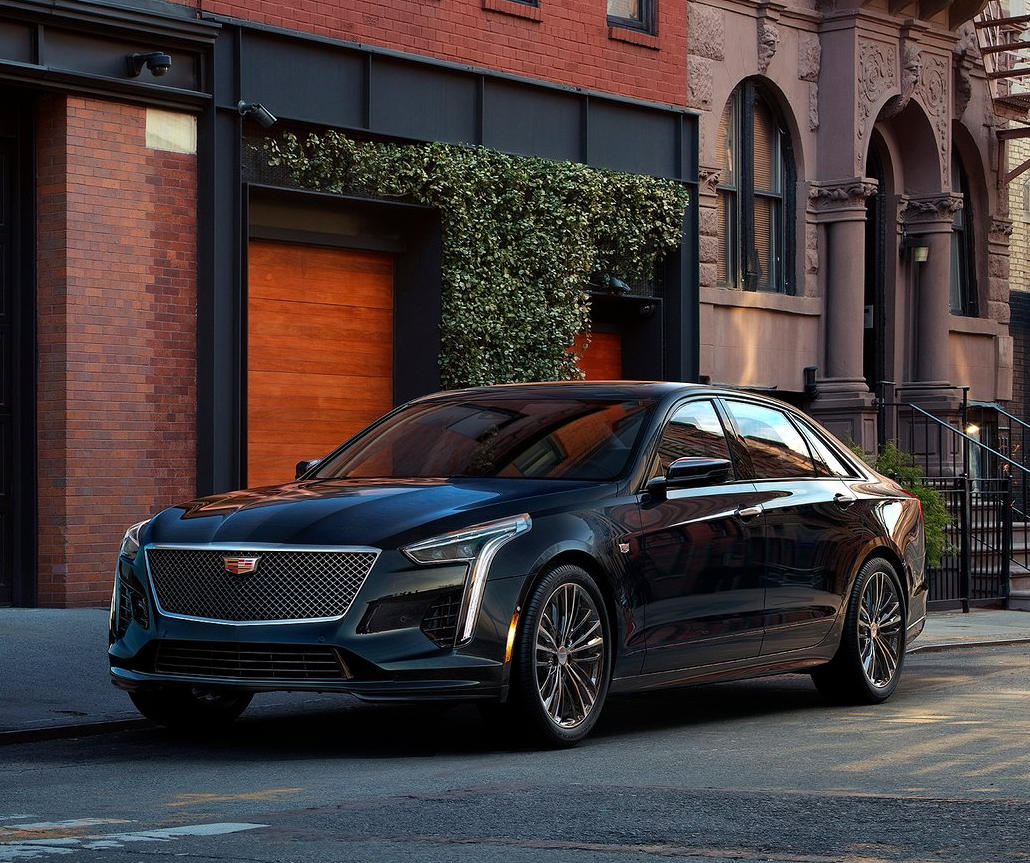 Cadillac CT6 2020 в России
