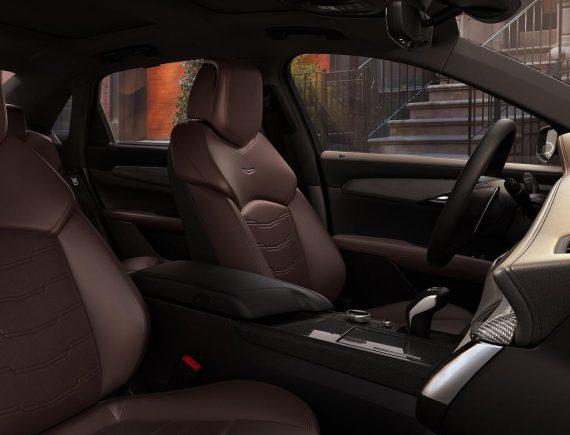 салон Cadillac CT6 2020 фото