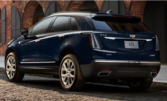 задние фонари Cadillac XT5 2020