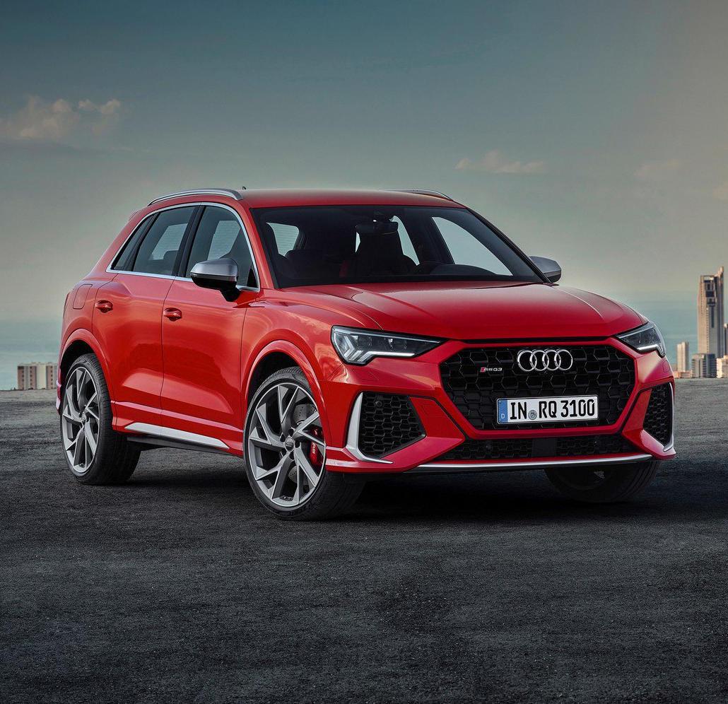 фото Audi RS Q3 2020 года