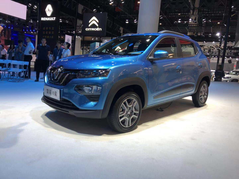 фото электромобиля Renault City K-ZE 2020