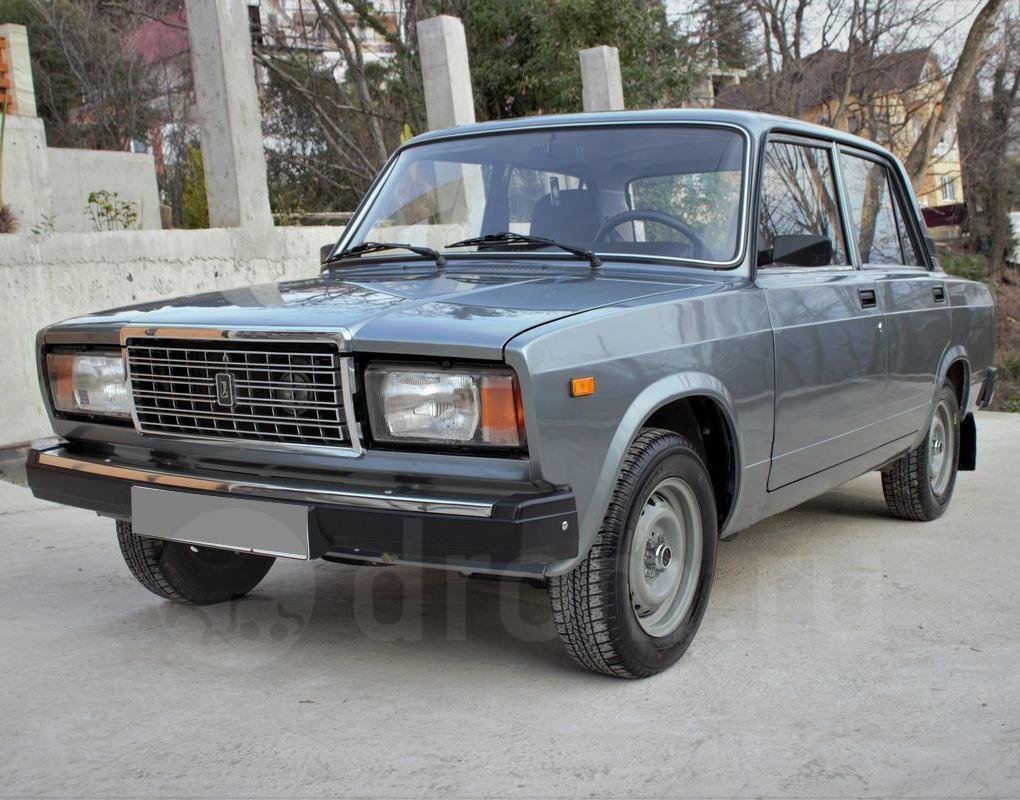Лада 2107 - самый популярный автомобиль в России