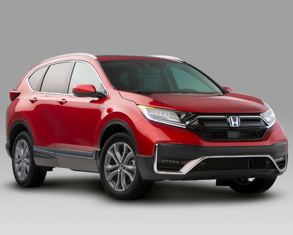 новая Honda CR-V 2020 фото