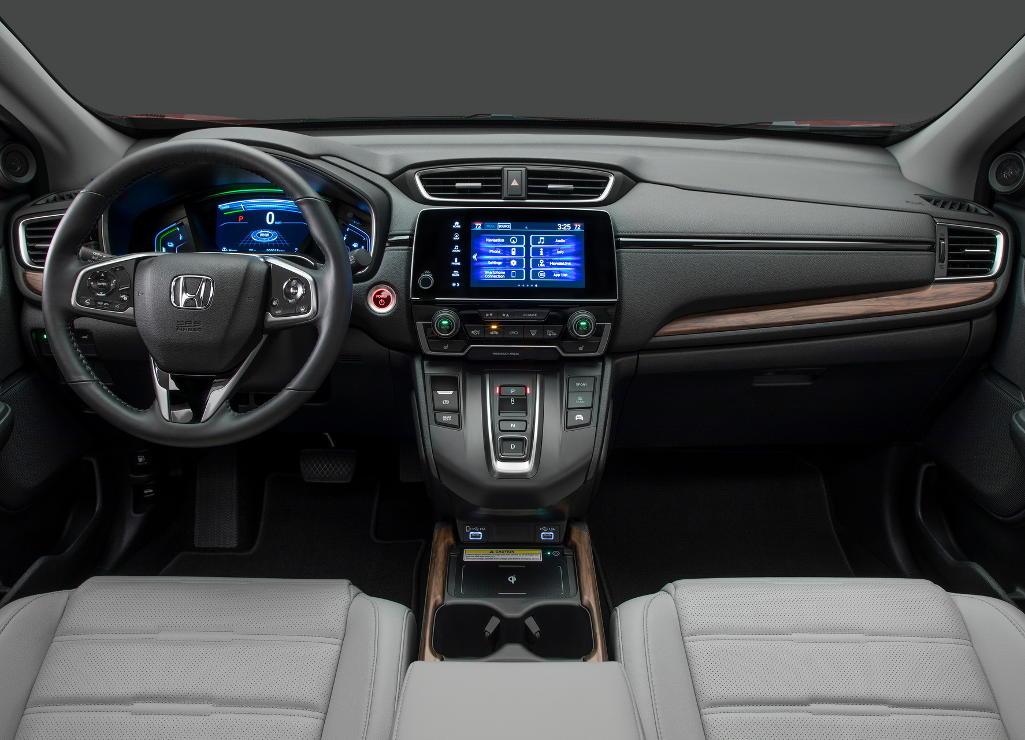 салон Honda CR-V 2021 года