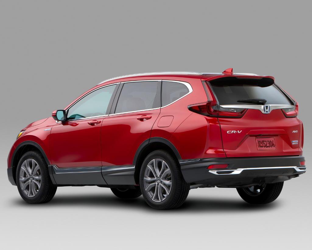 задняя часть Honda CR-V 2021