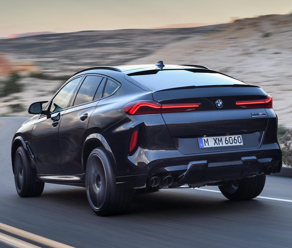 BMW Х6 М 2020 задние фонари
