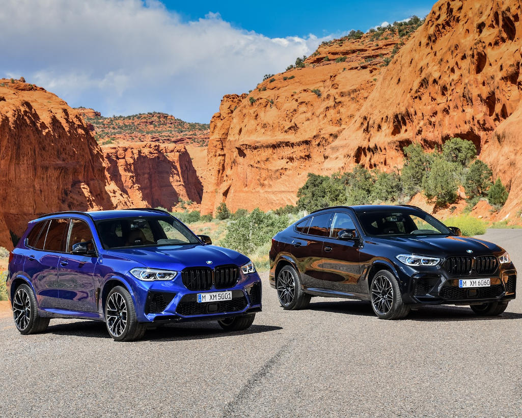 BMW X5 M и Х6 М 2020 фото