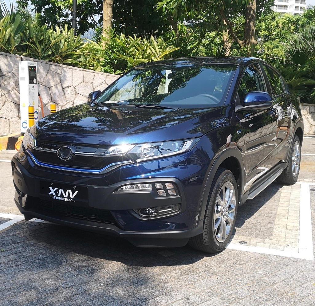 Электромобиль DongFeng Honda Siming X-NV фото