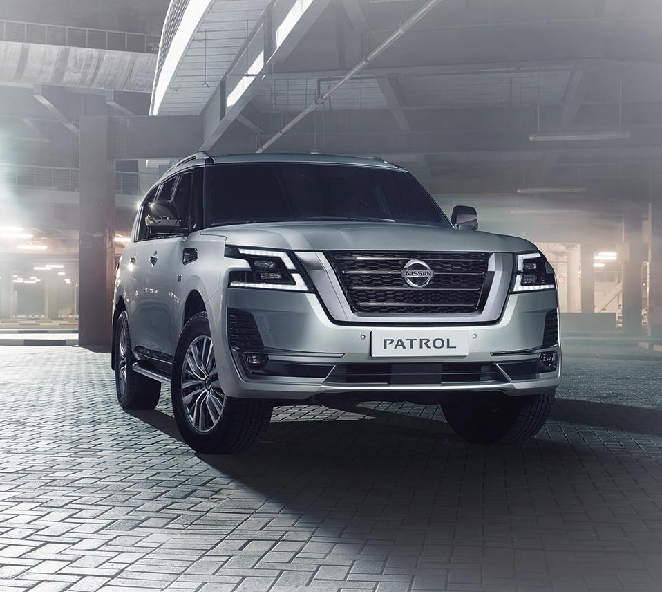 фары, решетка, бампер Nissan Patrol 2020 года