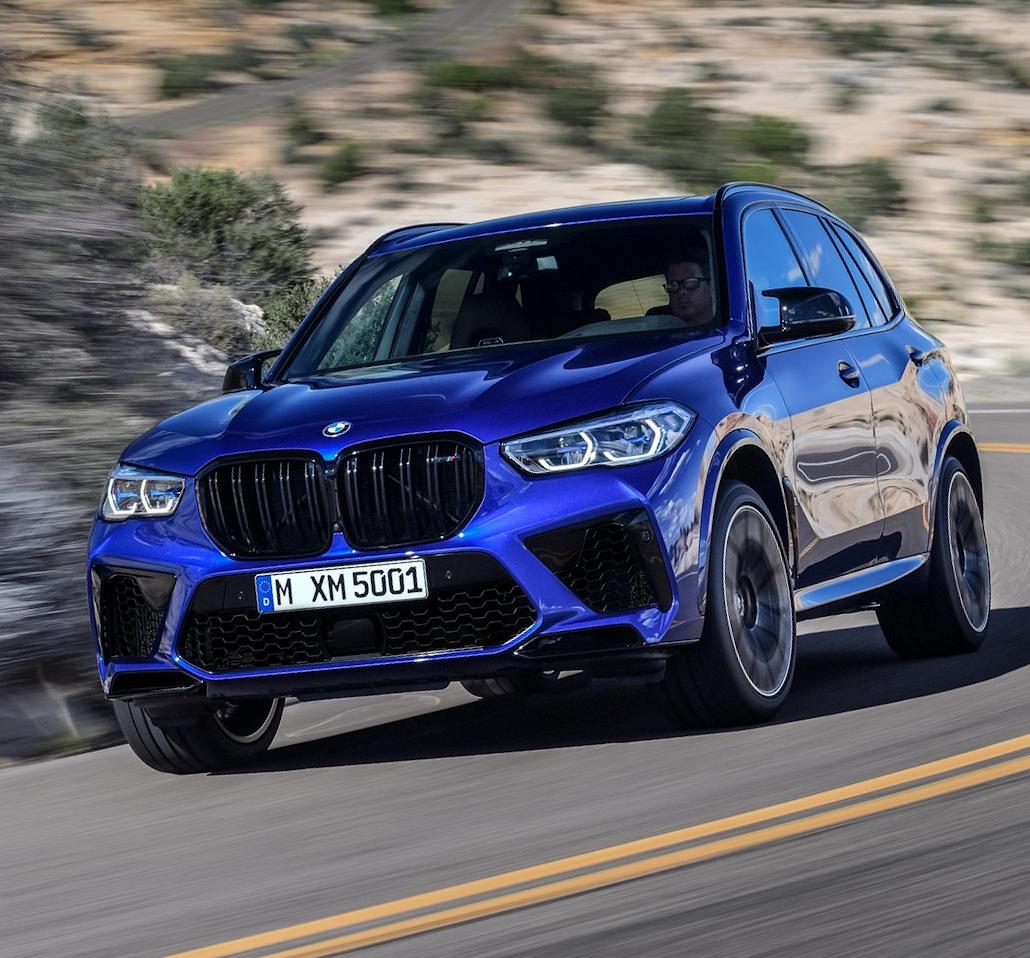 фото нового BMW X5 M 2020 года