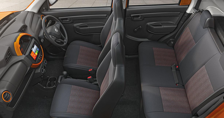 интерьер Suzuki S-Presso 2020