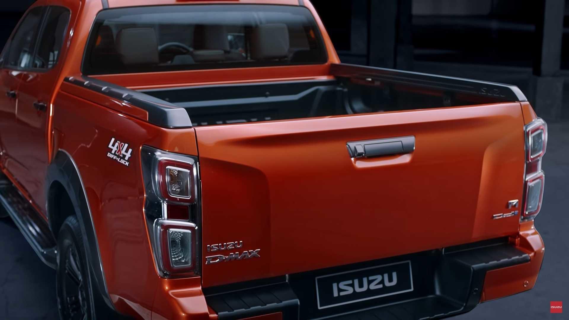 кузов Isuzu D-Max 2020