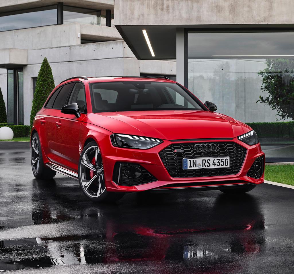 новая Audi RS4 Avant 2020 фото