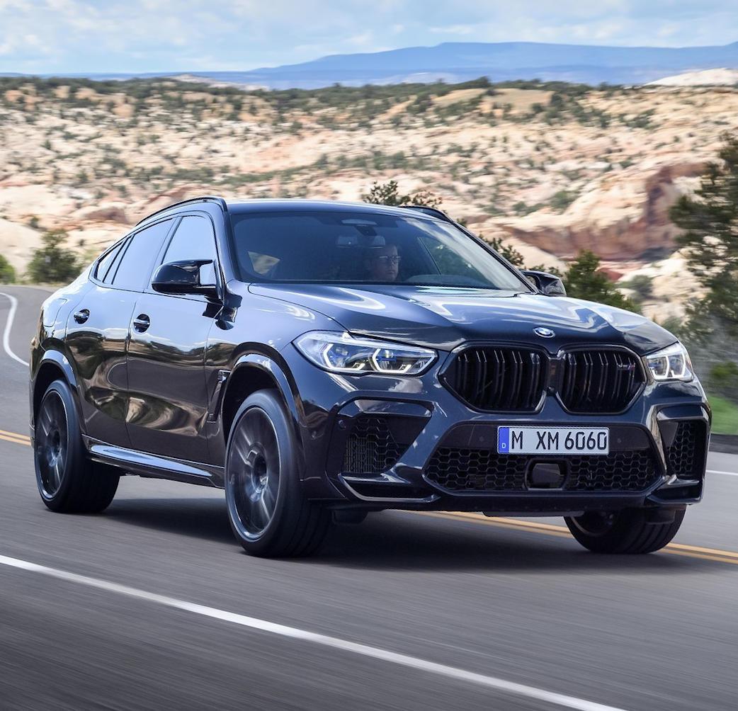 новый BMW Х6 М 2020 фото