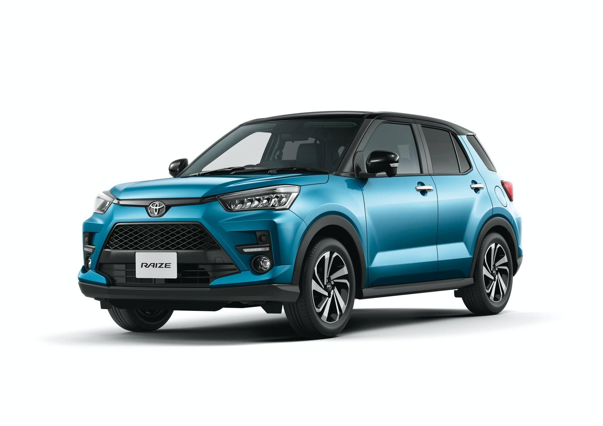 фото Toyota Raize 2020 года