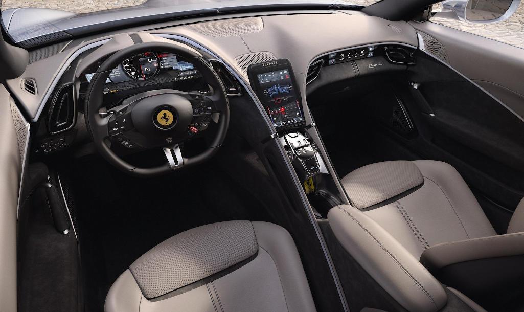 интерьер Ferrari Roma 2020 фото