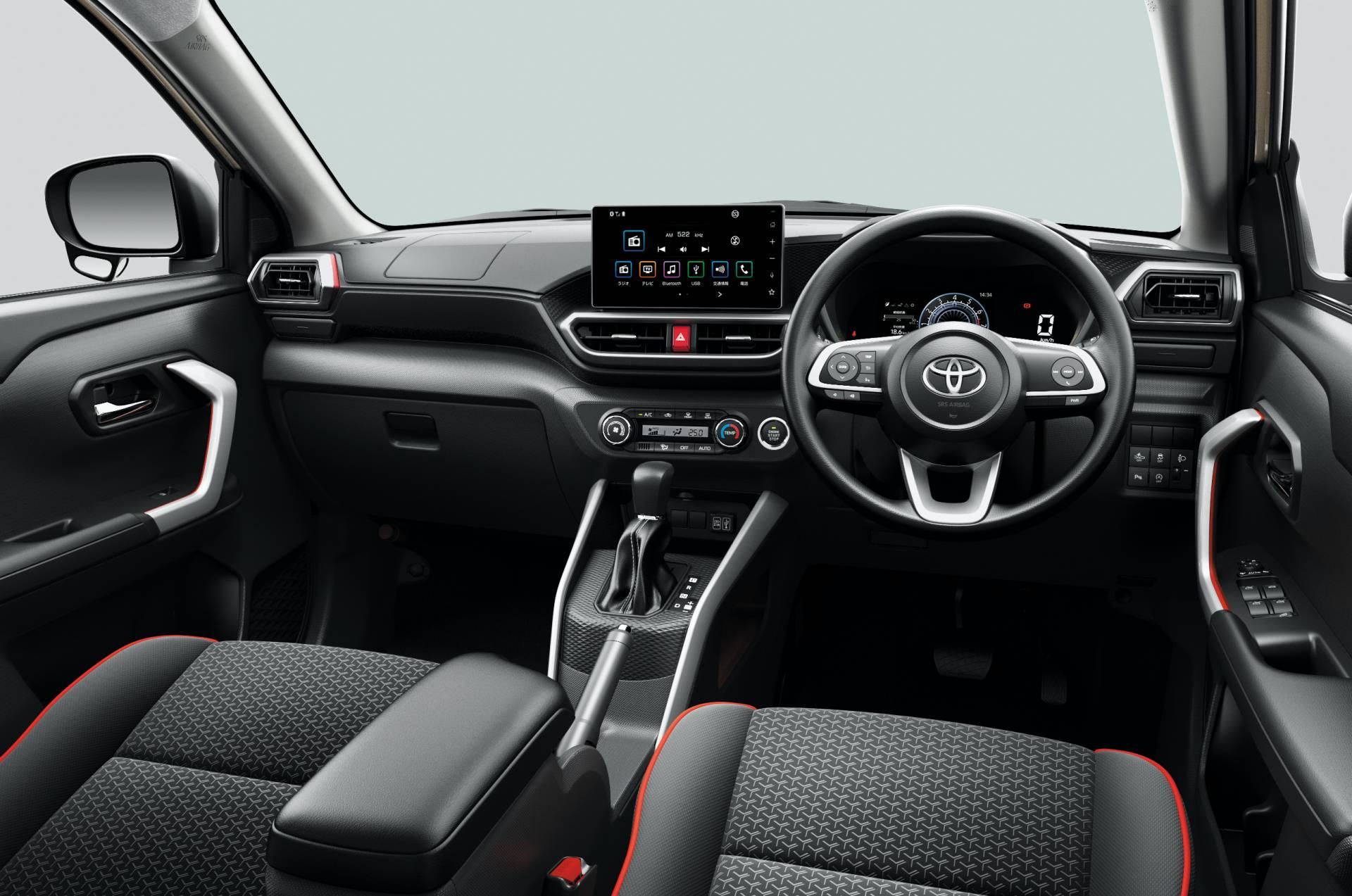 интерьер Toyota Raize 2020 года