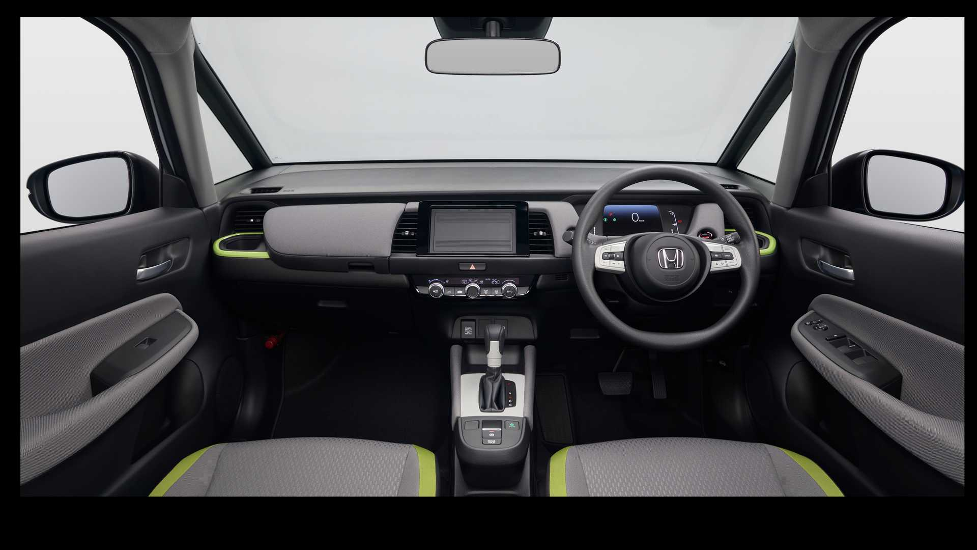 Новый Honda Fit 2020 салон