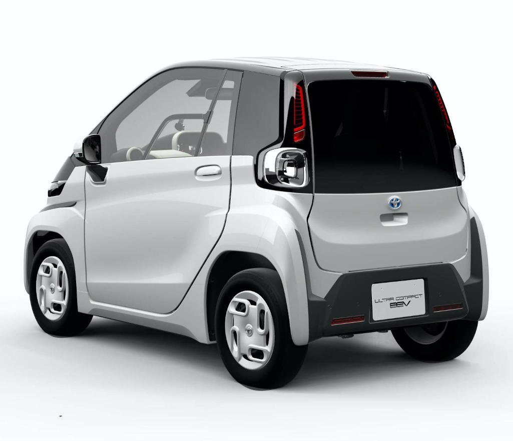 Toyota Ultra compact BEV запас хода