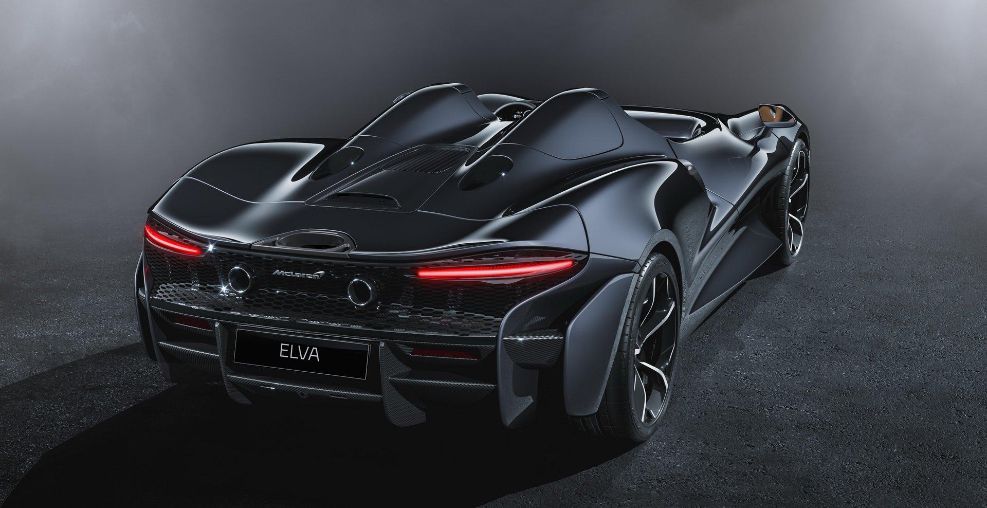 задние фонари McLaren Elva 2020