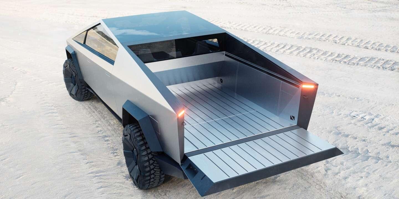 фото кузова Tesla Cybertruck