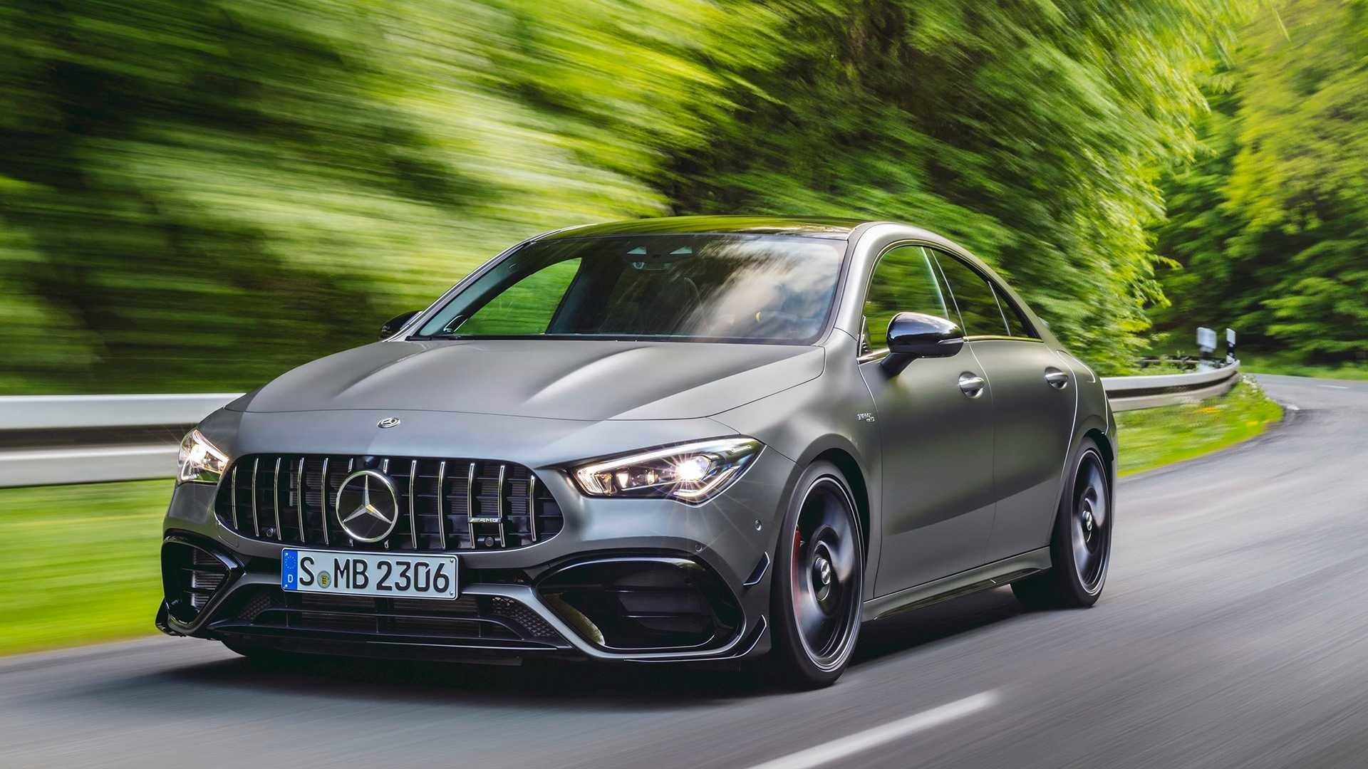 фото Mercedes-AMG CLA 45 S 2020