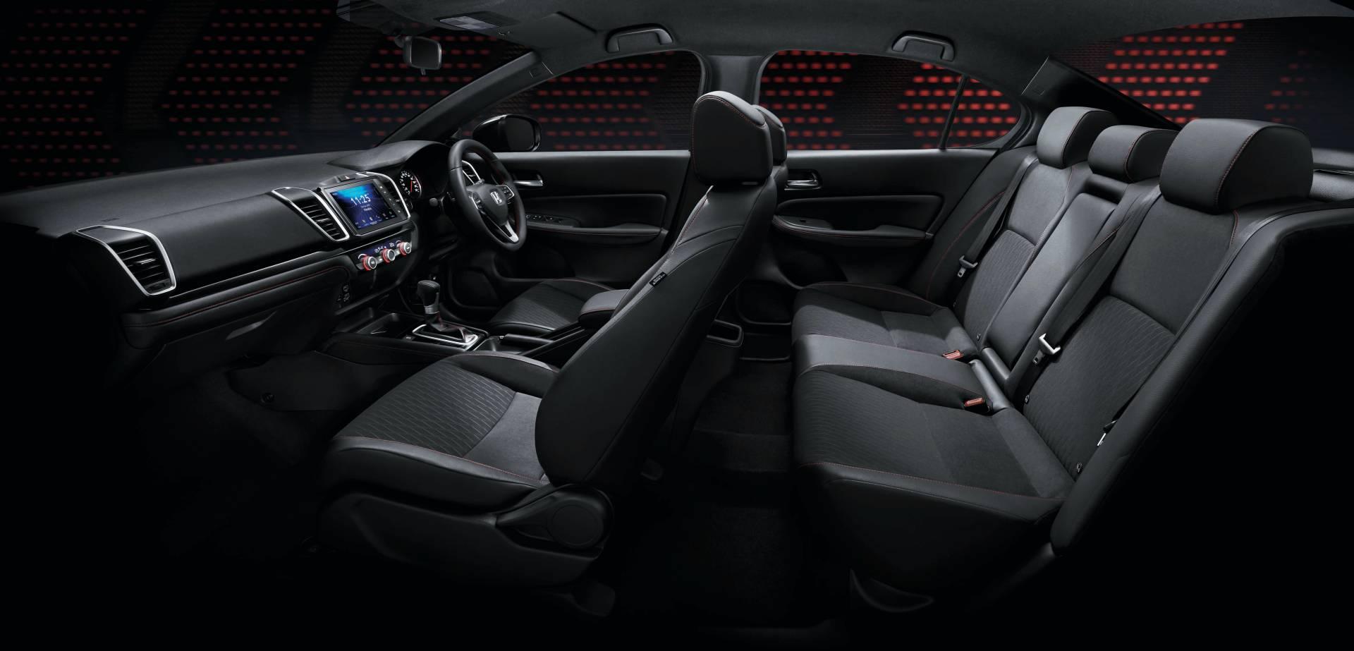 Honda City 2020 интерьер