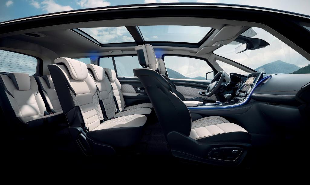 интерьер Renault Espace 2020