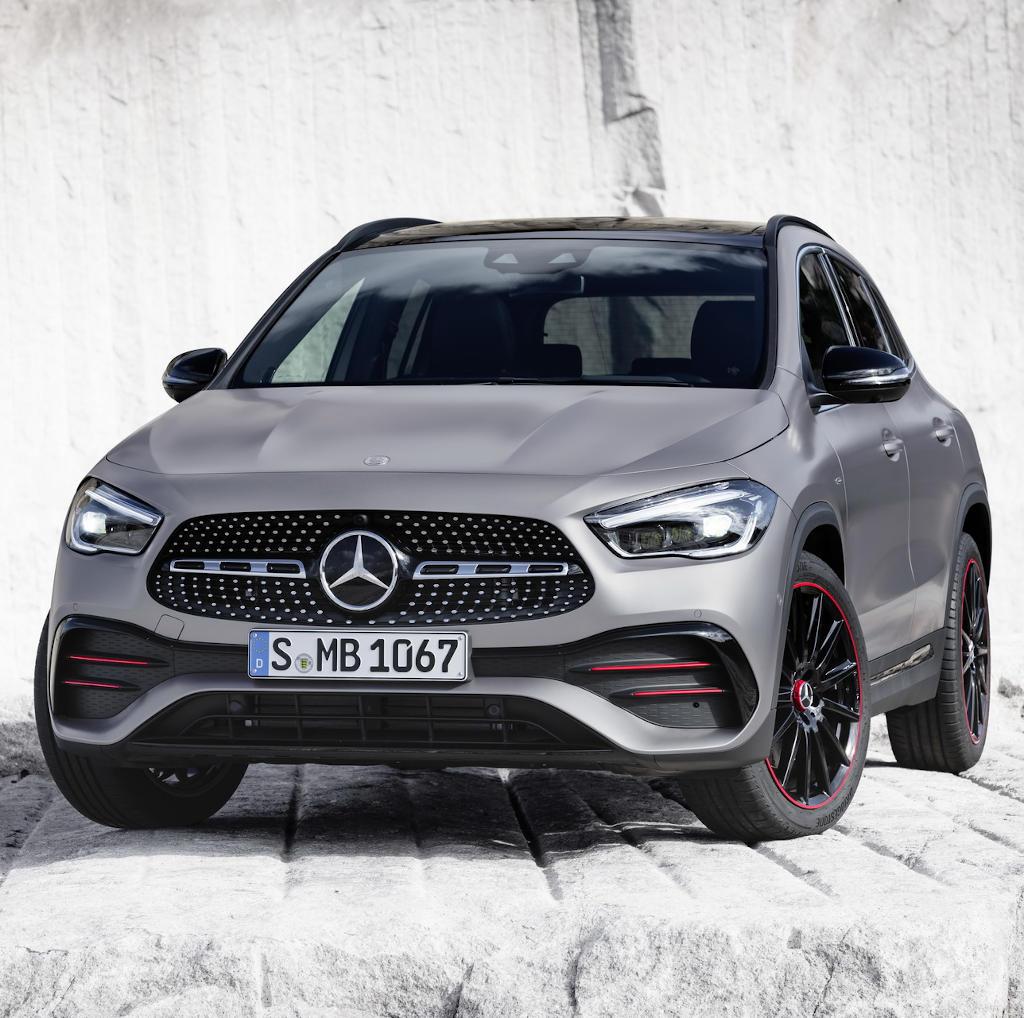 Mercedes GLA 2020 в России