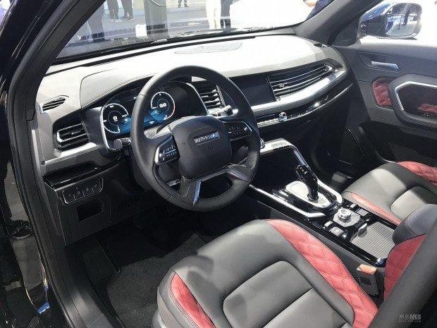 салон нового Haval H6 GT 2020