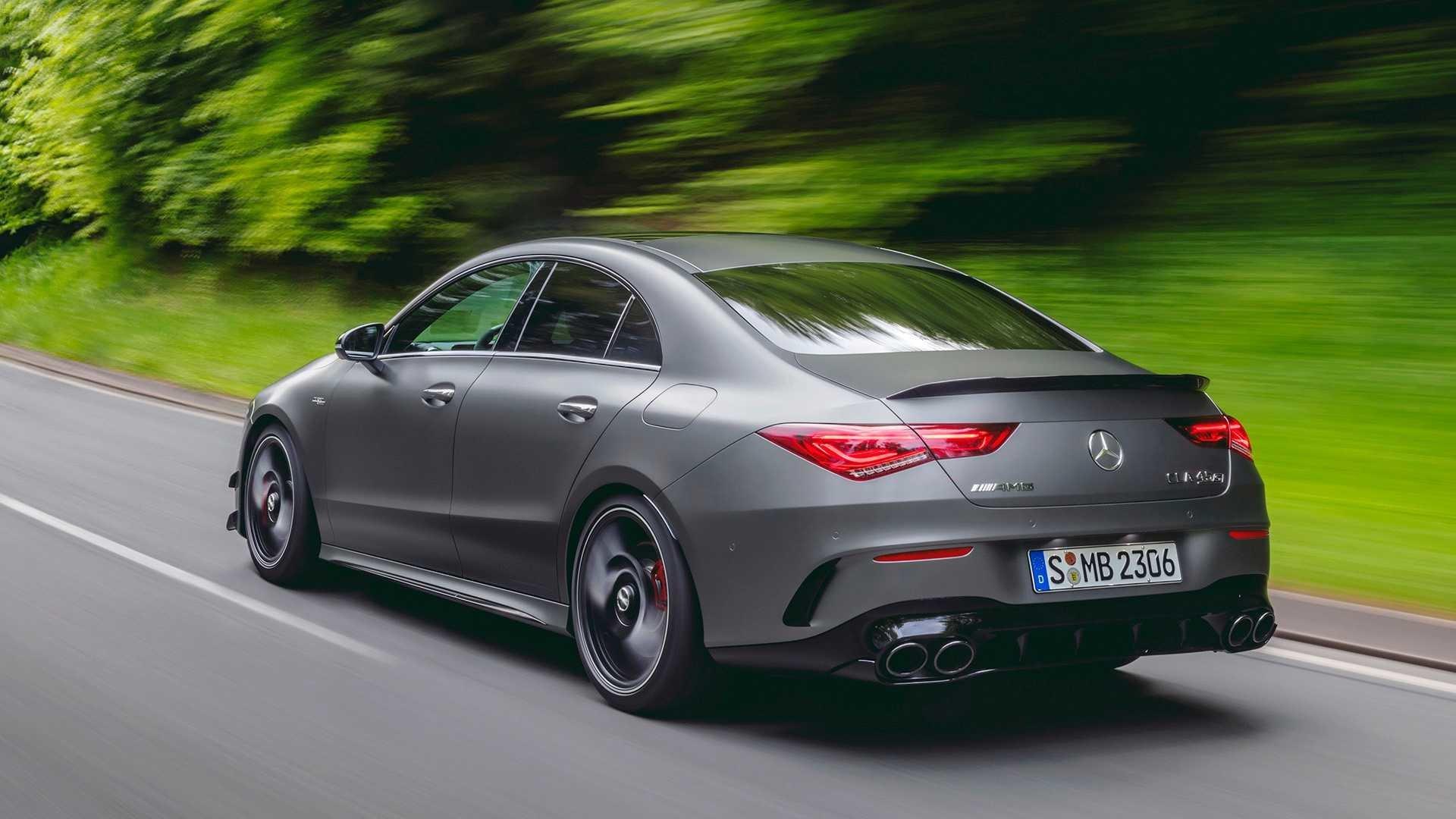 задние фонари Mercedes-AMG CLA 45 S 2020