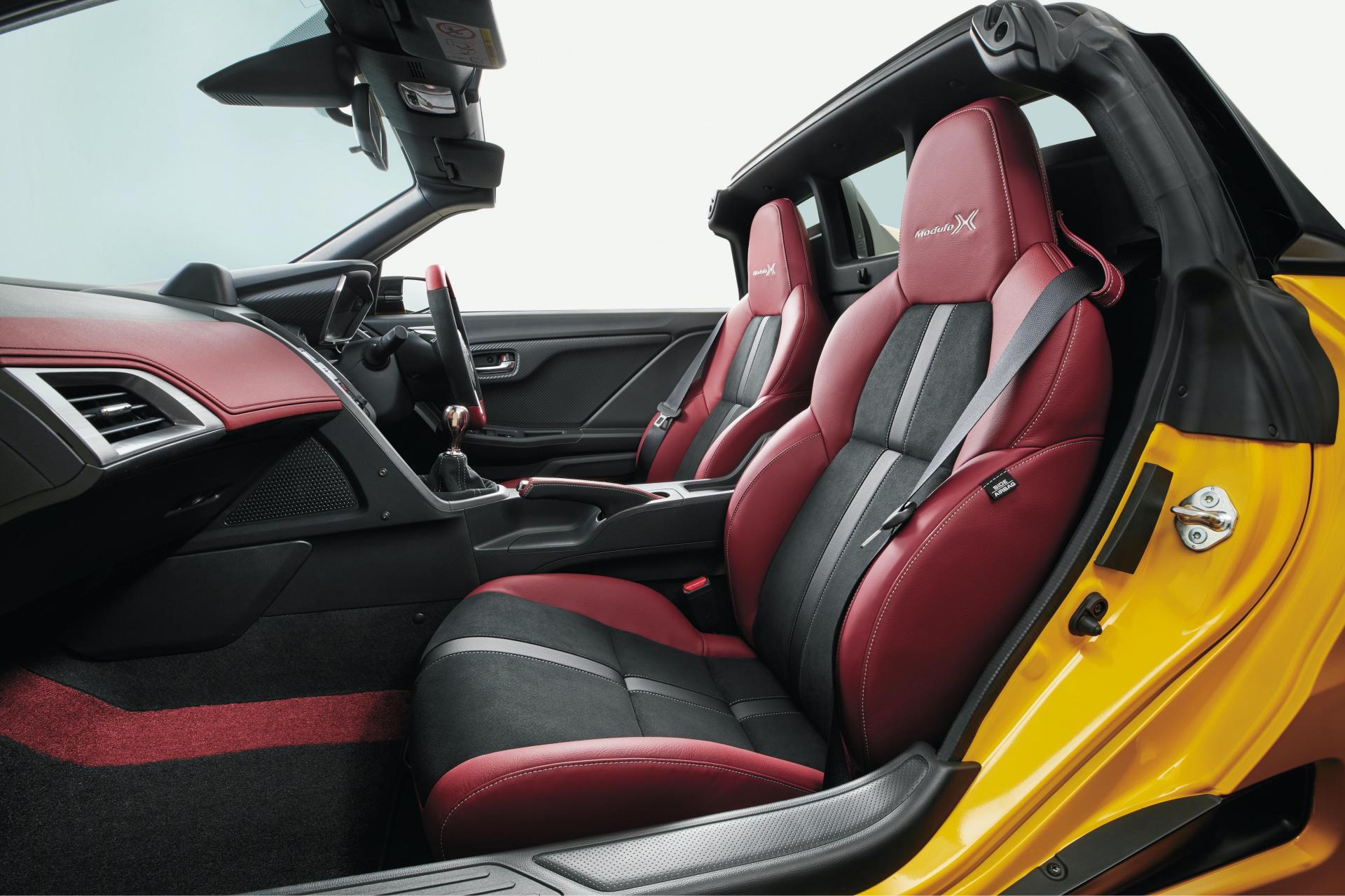 интерьер Honda S660 2020 Modulo X