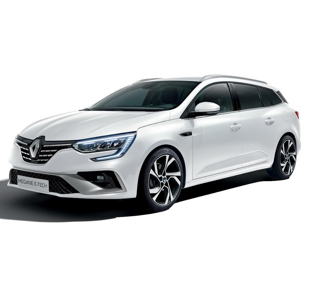 гибрид Renault Megane E-Tech 2020 фото