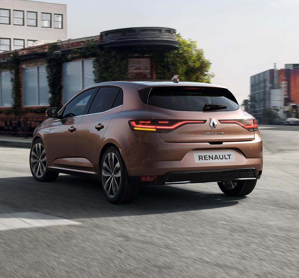 Renault Megane 2020 задние фонари