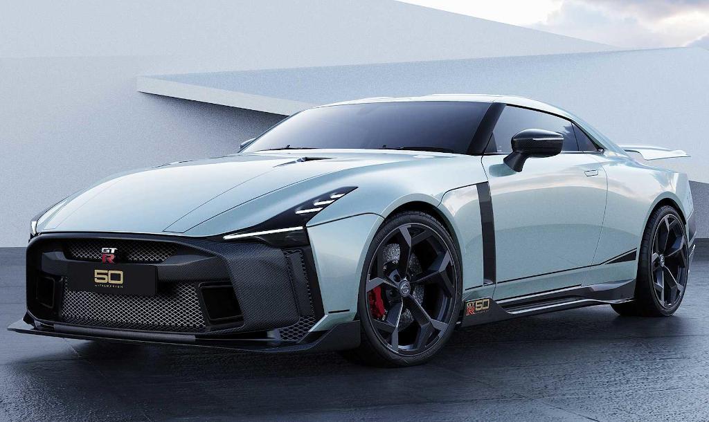фото Nissan GT-R50 Italdesign 2021 года